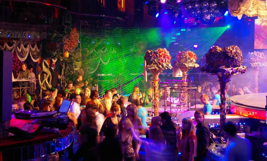 ночные клубы москвы видео